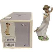 "Boxed Lladro ""Violets, Time of Innocents"" #6947"