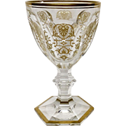 Stunning Baccarat Empire Crystal Water Goblet