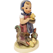 "Adorable Hummel ""Feeding Time"" Figurine TMK 4"