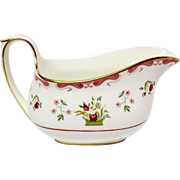 Wedgwood Colonial Williamsburg Bianca Bone China Creamer