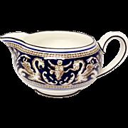 Wedgwood Florentine Cobalt W1079 Creamer