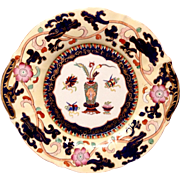 Fine Antique Mason's Chinese Antiquities Pattern Ironstone Charger