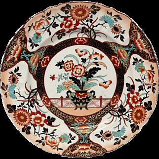 Antique Mason's Imari Style Ironstone Dinner Plate