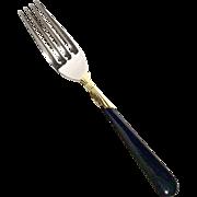 Yamazaki Lindi Black & Gold Stainless Salad Fork
