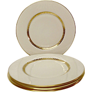 Set (4) Lenox Imperial P338 Bread & Butter Plates