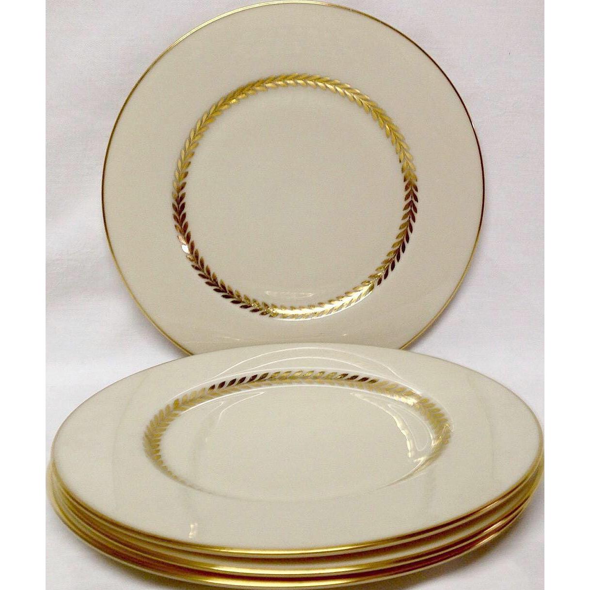 Set (4) Lenox Imperial P338 Bread & Butter Plates