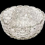 Superb Harvard Pattern American Brilliant Period Large Serving Bowl