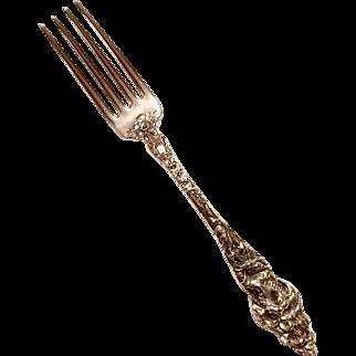 Reed & Barton Les Six Fleurs Real Large Dinner Forks