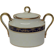 Richard Ginori Castello Covered Sugar Bowl