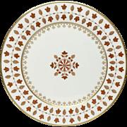 Haviland Parlon Matignon Rust Service Plate or Charger