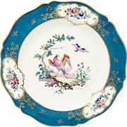 Royal Limoges Duplessis Dinner Plate Princess Margaret