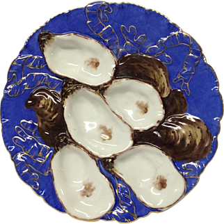 Haviland & Co. Turkey Oyster Plate