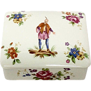 Mottahedeh Historic Charleston Chinoiserie Style Dresser Box