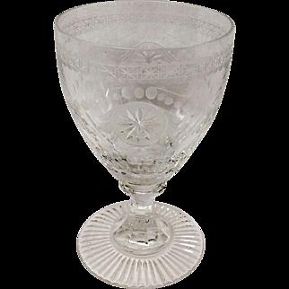 Stunning Willaim Yeoward Pearl Small Wine Goblet