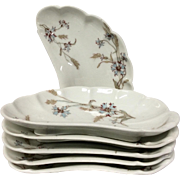 Set(6) Haviland Schleiger 73 Bone Dishes