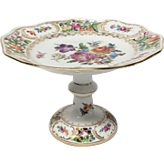 Beautiful Carl Thieme Dresden Compote