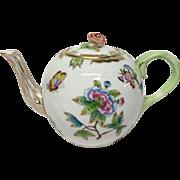 Herend Queen Victoria VBO Small Tea Pot