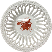 Chinese Bouquet Rust AOG  Woven Basket