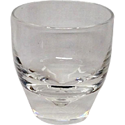 Steuben Mid Century Cocktail Glass 7937, Dimple, George Thompson