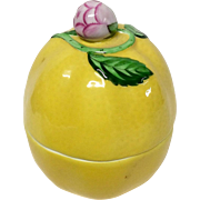 Delightful Herend Lemon Trinket Box 6071C