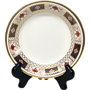 "Royal Crown Derby ""Derby Border"" A1273 Cereal Bowl"