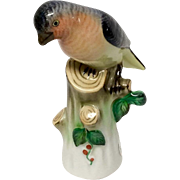 Delightful Herend Bird on a Stump Figurine 193