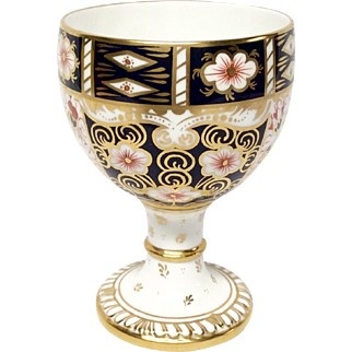 "Stunning Royal Crown Derby ""Traditional Imari"" 2451 Goblet"