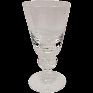 Fine Steuben Baluster Stem Pattern 7877 Wine