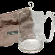 Steuben Beer Mug #7921 Irene Benton Design
