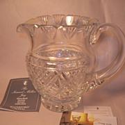 Waterford Society Crystal Samuel Miller Jug