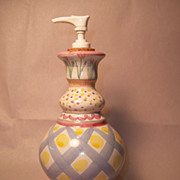MacKenzie-Childs AALSMEER Soap Lotion Dispenser
