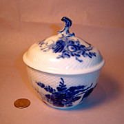 Royal Copenhagen Blue Flowers Large Covered Sugar