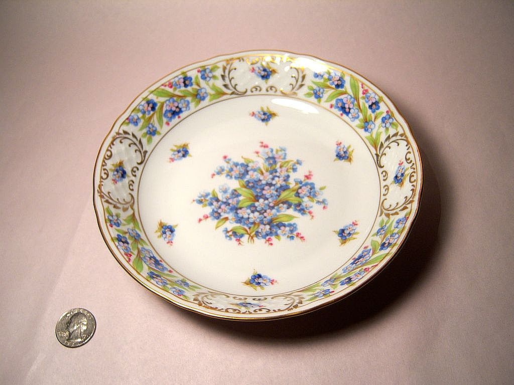 "Schumann ""Forget Me Not"" Coupe Soup Bowl"