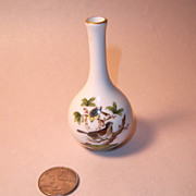 Herend Rothschild Bird (RO) Miniature Bud Vase