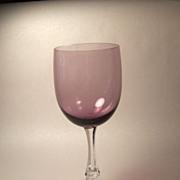 Fostoria Fascination-Lilac  Water Goblet