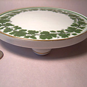 Meissen Full Green Vine Wonderful Footed Trivet