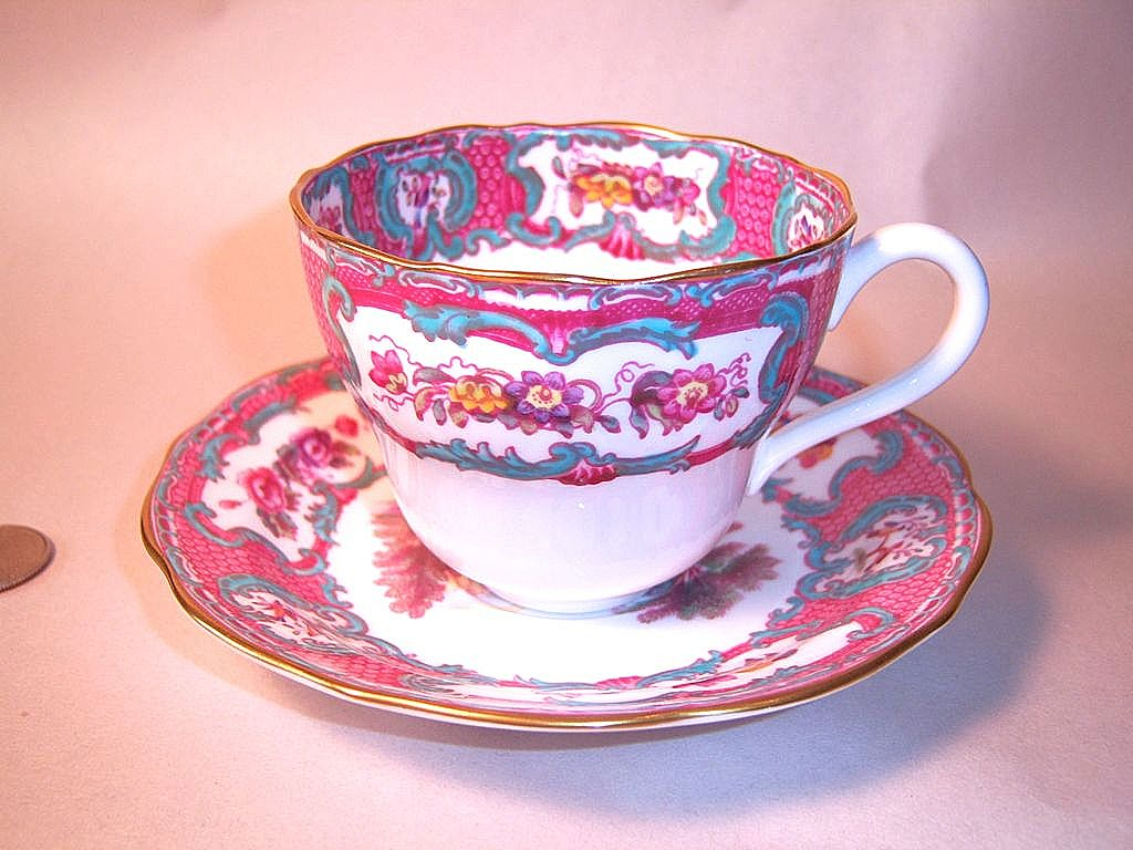 Beautiful Spode Queen Mary Cup & Saucer Set