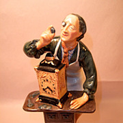 "Royal Doulton ""Clock Maker"" HN2279 Figurine"
