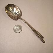 Rare Durgin Cat Tails Preserve Spoon