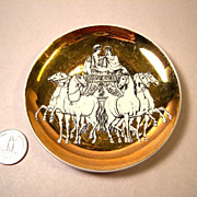 Fornasetti Roman Chariot Exclusive Saks 5th Ave Coaster,