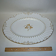 "Royal Crown Derby Wentworth 15"" Oval Platter"