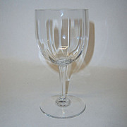 "Baccarat Montaigne Optic Crystal 5 3/4""Claret"