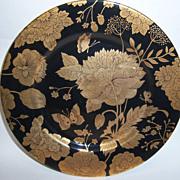 "Fitz & Floyd ""Gold Brocade"" 7 1/2"" Plate"