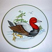 "Fitz & Floyd ""Carnard Sauvage"" Red Head Duck Plate"
