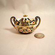 Royal Crown Derby Traditional Imari 2451 Miniature Sugar Bowl