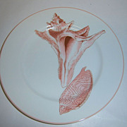 "Fitz & Floyd ""Coquille"" Salad Plate"