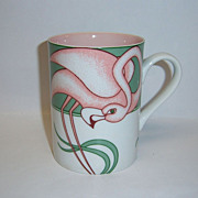 "Fitz & Floyd ""Flamingo Road"" Mug"