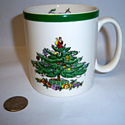 "Spode ""Christmas Tree"" Mug"