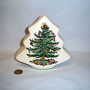 "Spode ""Christmas Tree"" Tree Bank"