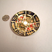 Royal Crown Derby Traditional Imari 2451 Miniature Plate